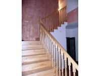 obklad schodů masiv borovice