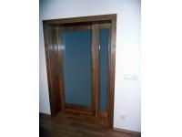 dveře masiv dub